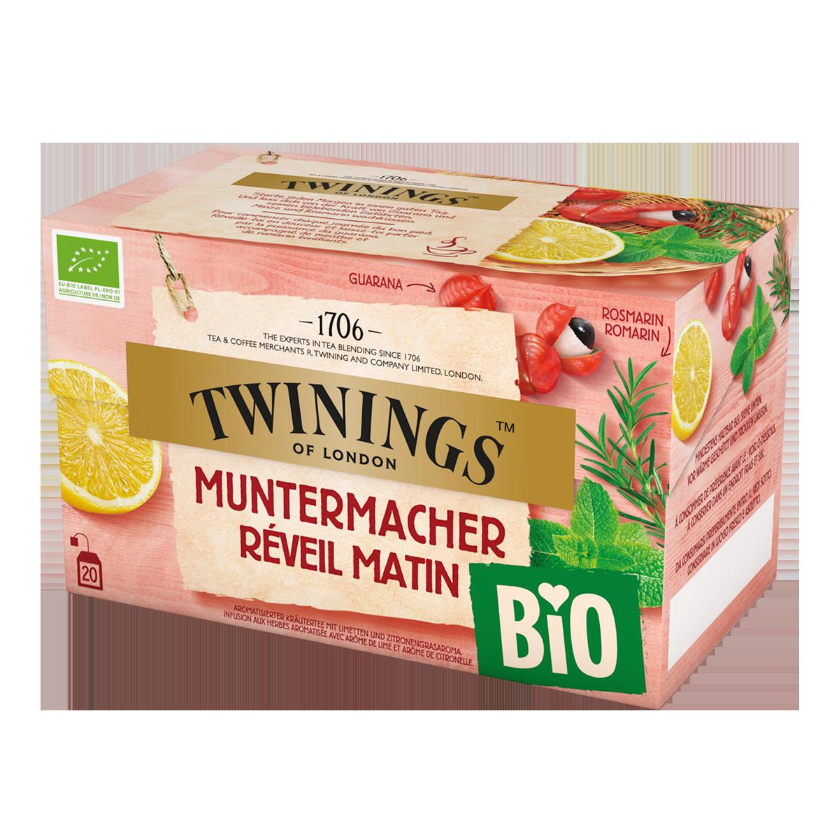 Twinings Bio Muntermacher 38g