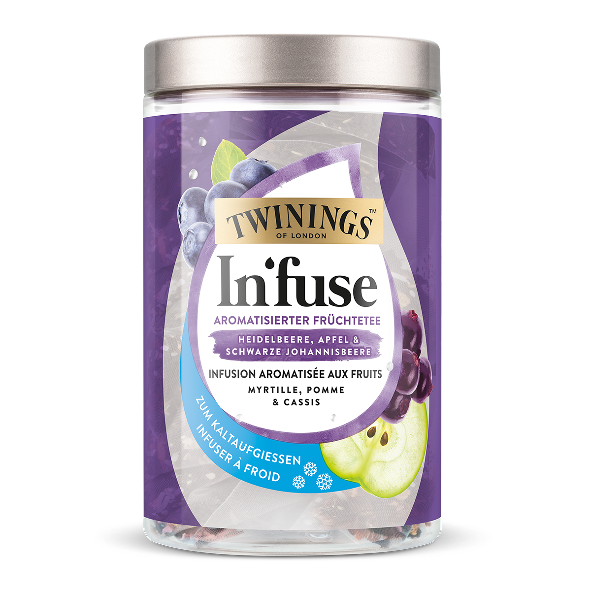 Twinings In'fuse bleuet, pomme et cassis 30 g