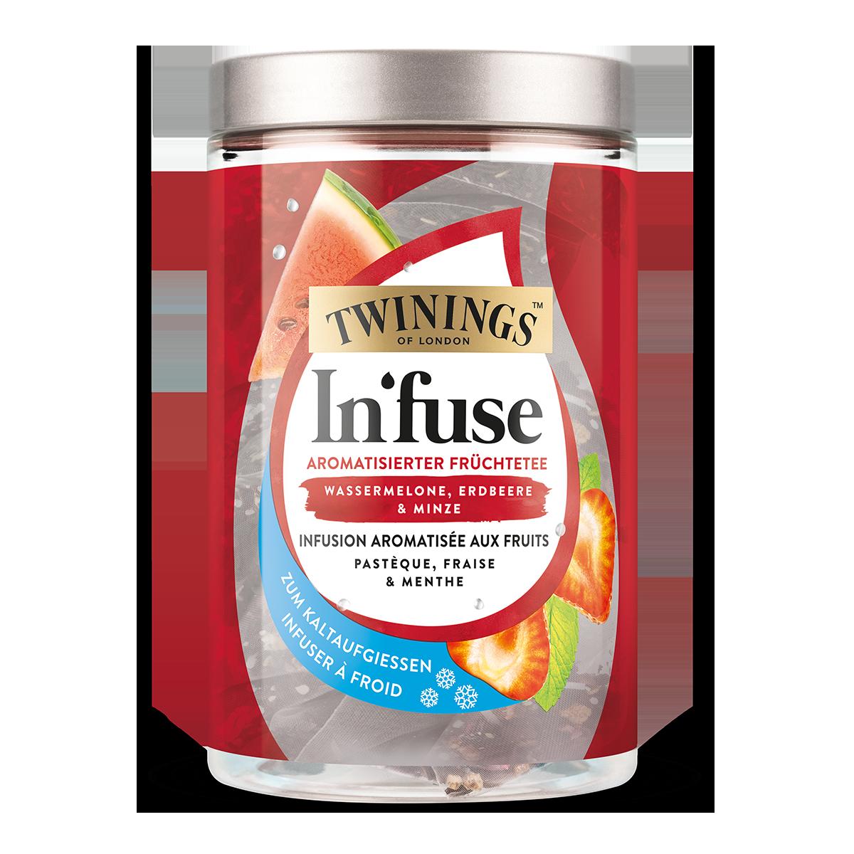 Twinings In'fuse Pastèque, fraise et menthe 30 g