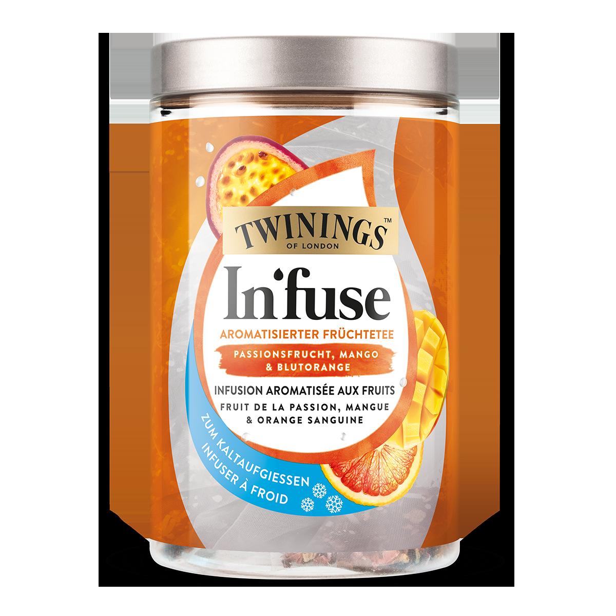 Twinings In'fuse Passionsfrucht, Mango & Blutorange 30 g