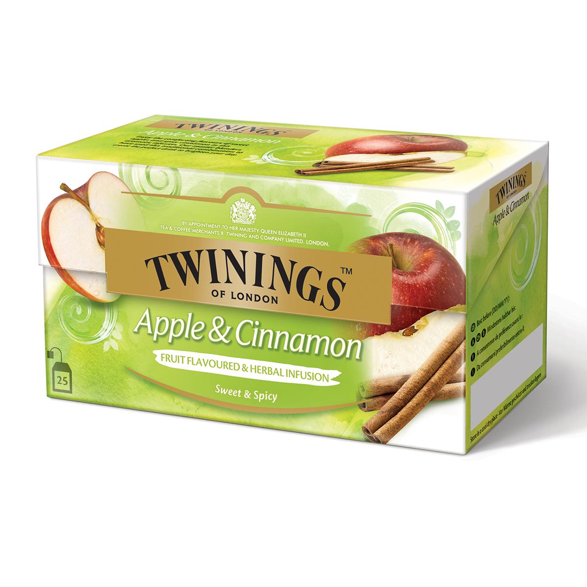 Twinings Apfel & Zimt 25 x 1.5 g