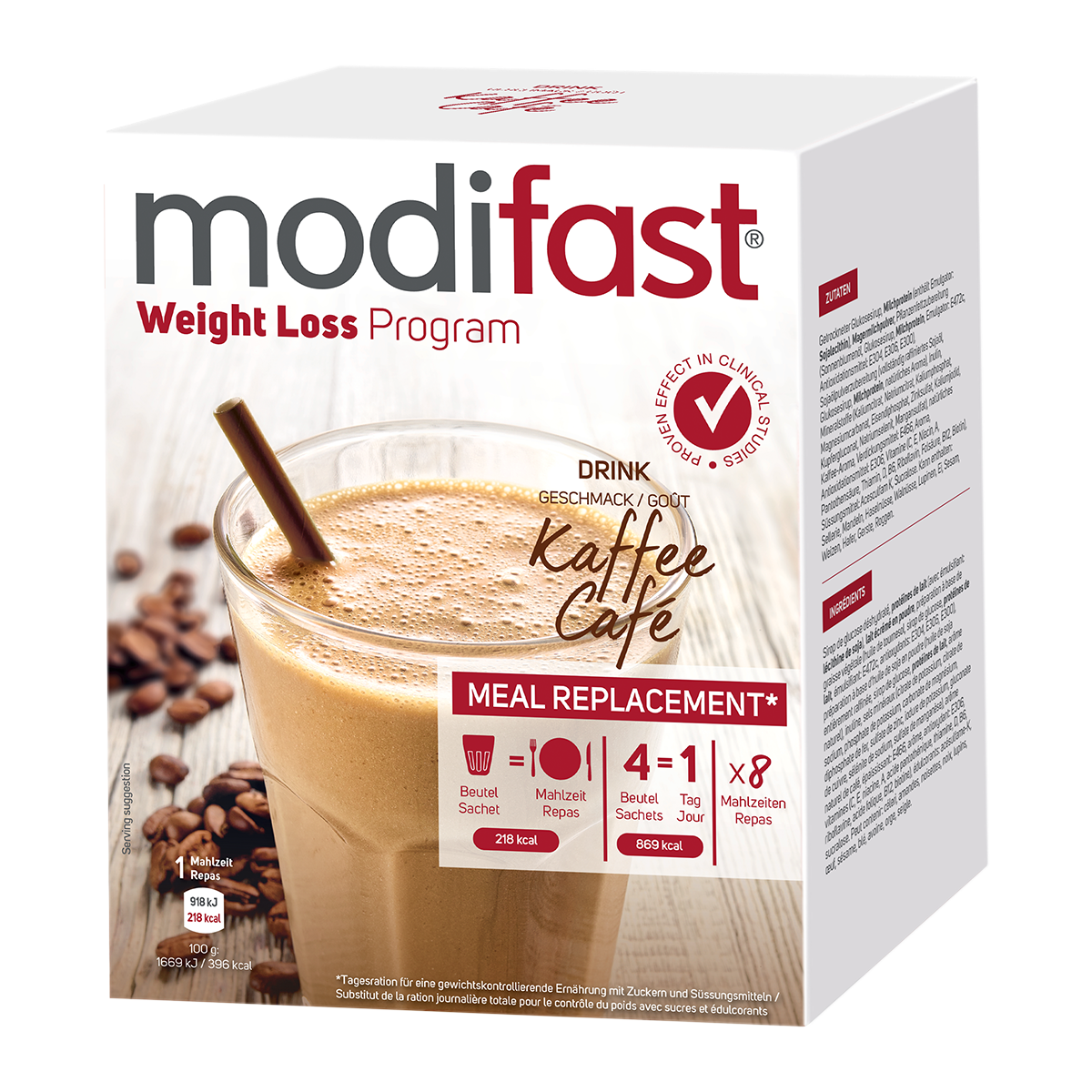 Modifast Drink Kaffee 8 x 55 g