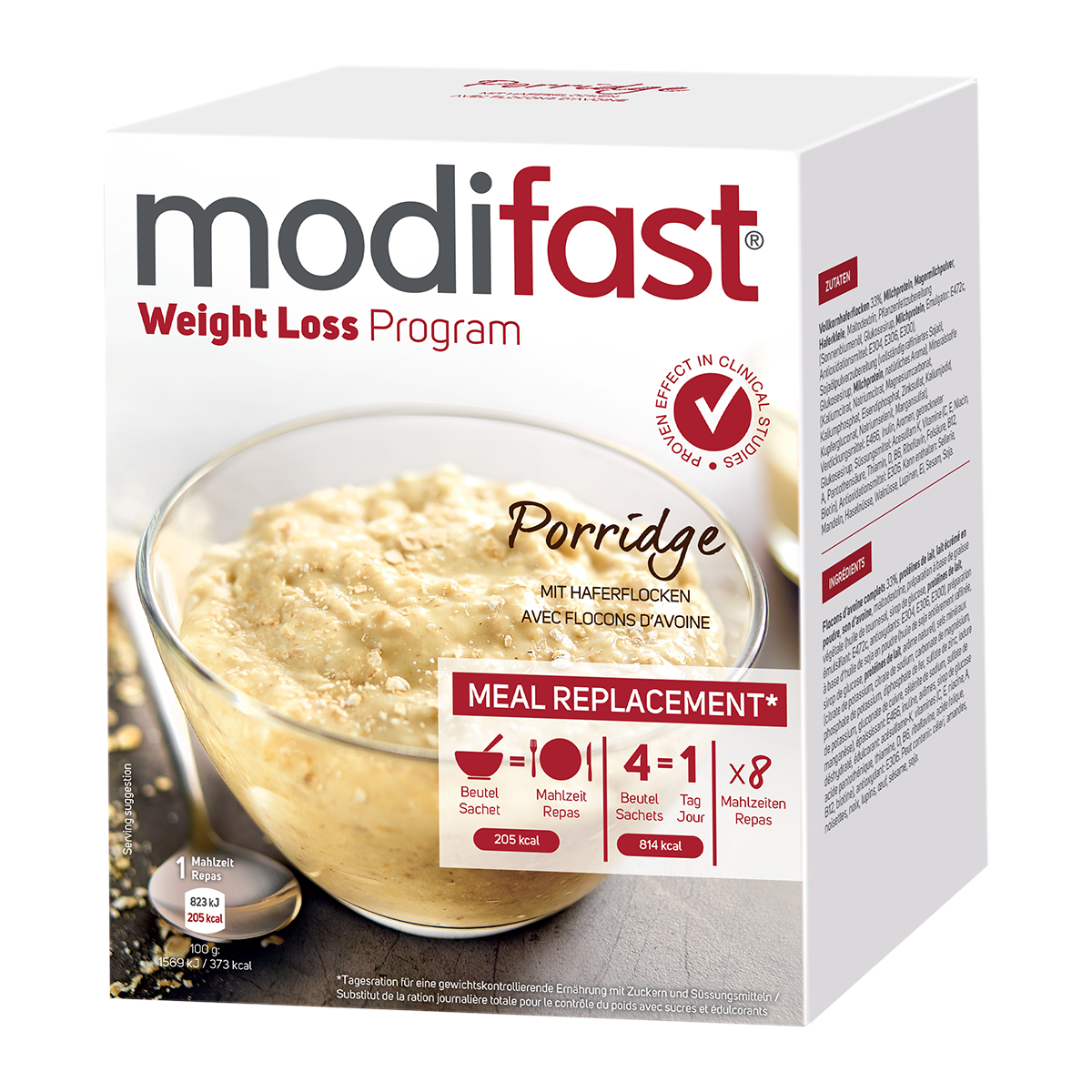 Modifast Porridge 8 x 55 g