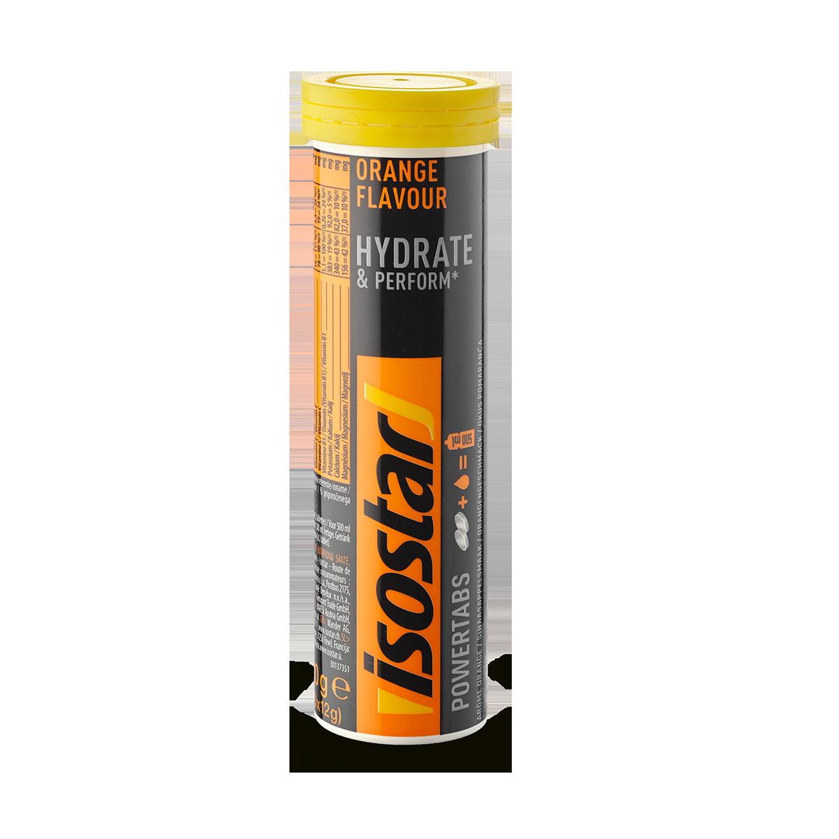 Isostar Powertabs Orange 120 g