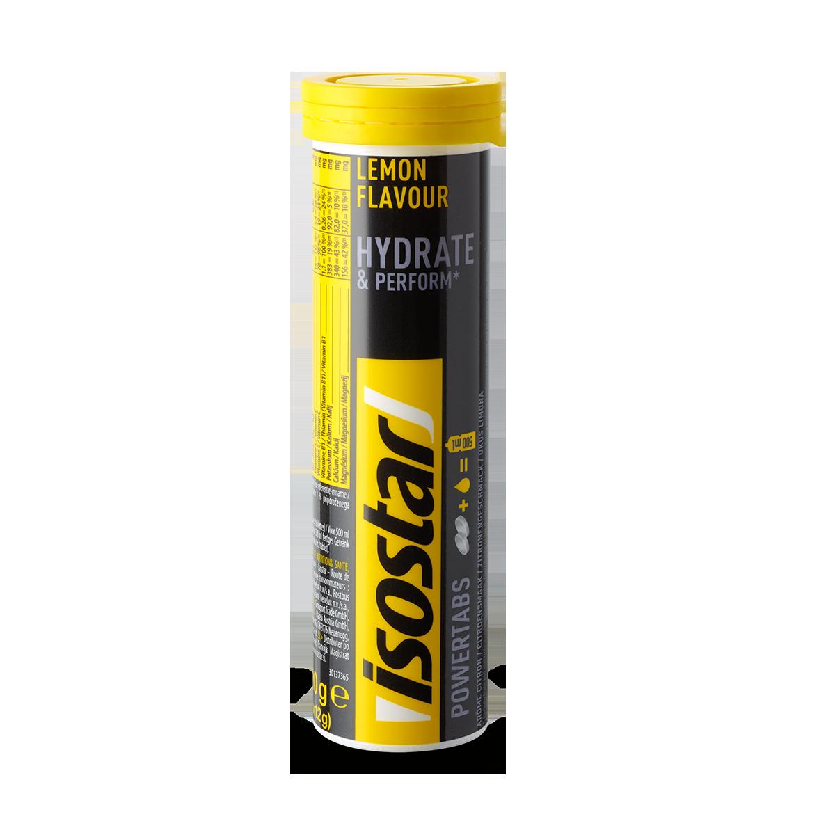 Isostar Powertabs Lemon 120 g