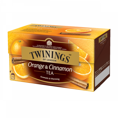 Twinings Thé noir Orange & Cannelle