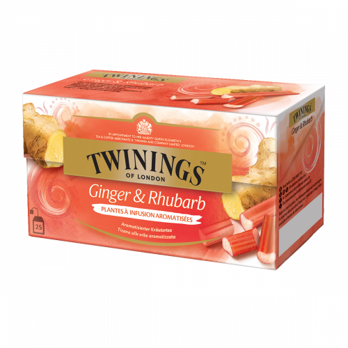 Twinings Gingembre & Rhubarbe