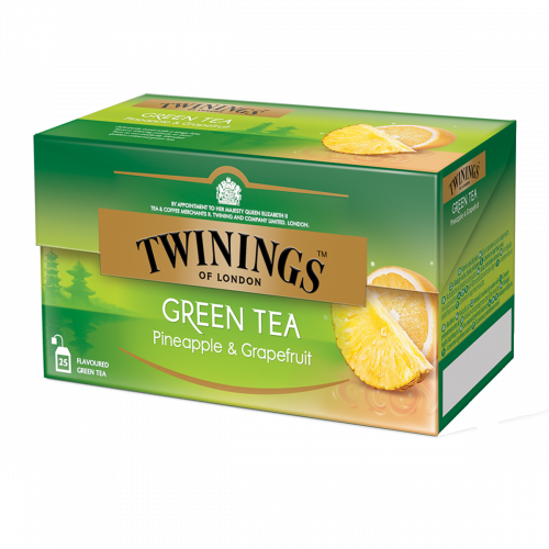 Twinings Thé vert ananas & pamplemousse