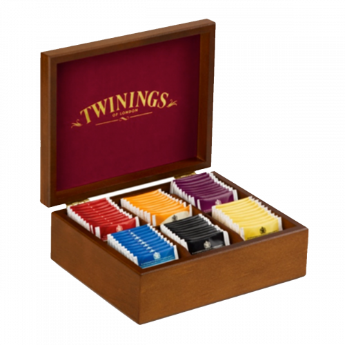 Twinings box à bois