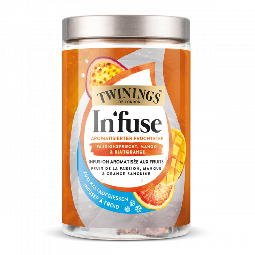 Twinings In'fuse fruit de la passion, mangue et orange sanguine