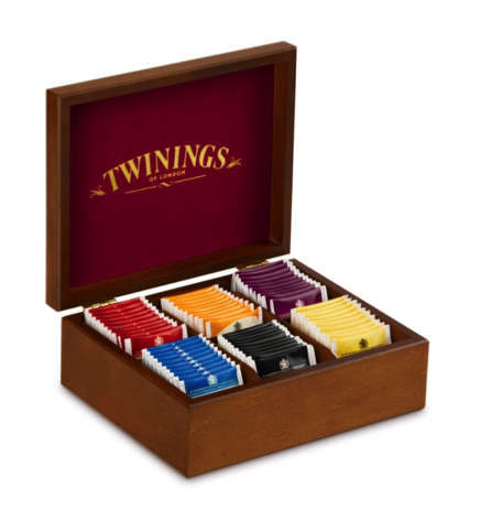 Twinings Holzbox Schwarztee""""