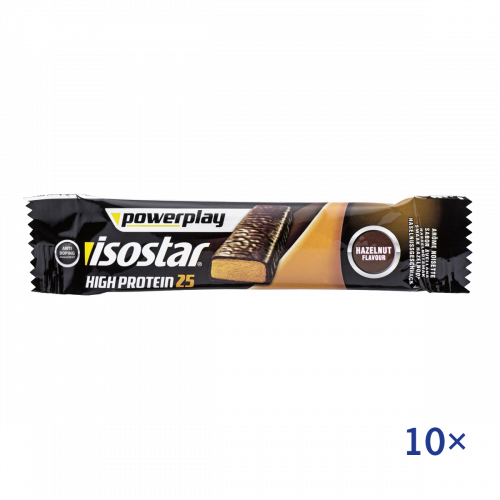 Isostar High Protein Riegel Haselnuss 10x