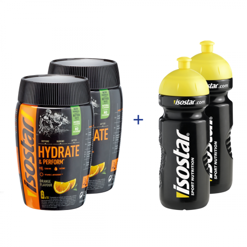 Isostar Hydrate&Perform Orange Set