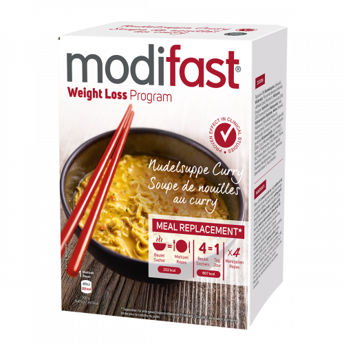 Modifast Nudelsuppe Curry