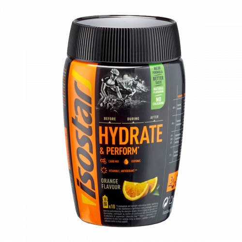 Isostar Hydrate&Perform Orange