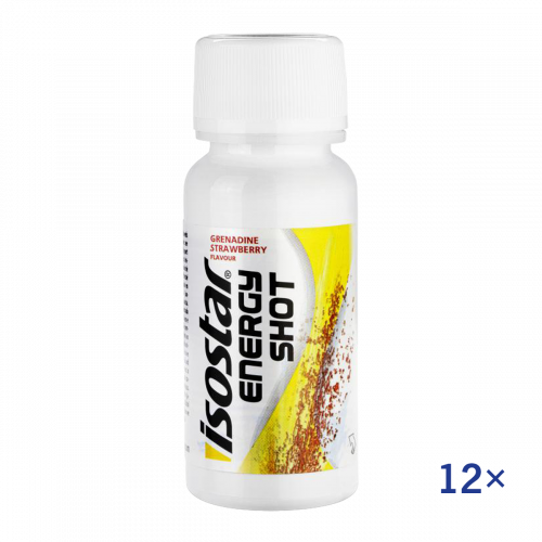 Isostar Energy Shot 12x
