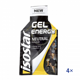 Isostar Gel Neutral 4x