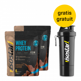 Iso Whey Protein Chocolate Set 2x + Shaker