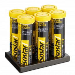 Isostar Powertabs Lemon 6x