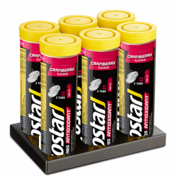 Isostar Powertabs Cranberry 6x