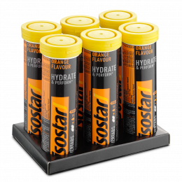 Isostar Powertabs Orange 6x